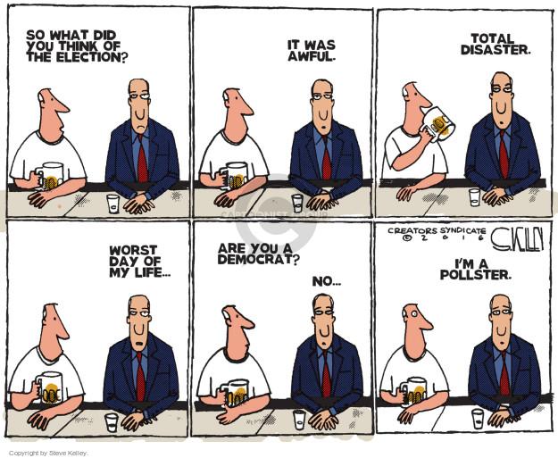 Steve Kelley  Steve Kelley's Editorial Cartoons 2016-11-11 party of no