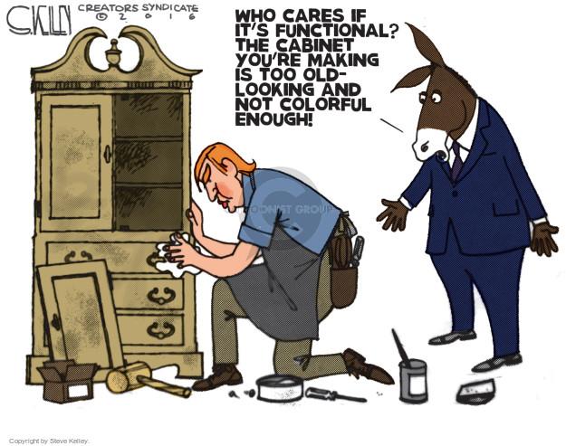 Steve Kelley  Steve Kelley's Editorial Cartoons 2016-11-22 GOP
