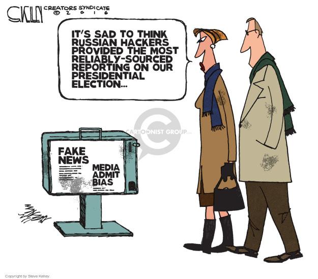 Cartoonist Steve Kelley  Steve Kelley's Editorial Cartoons 2016-12-13 result