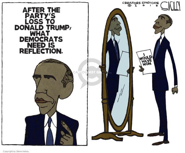 Steve Kelley  Steve Kelley's Editorial Cartoons 2016-12-28 Barack Obama