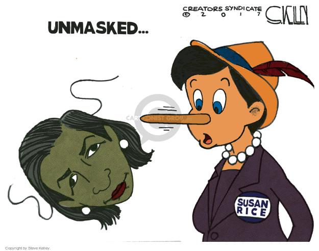 Steve Kelley  Steve Kelley's Editorial Cartoons 2017-04-06 identity