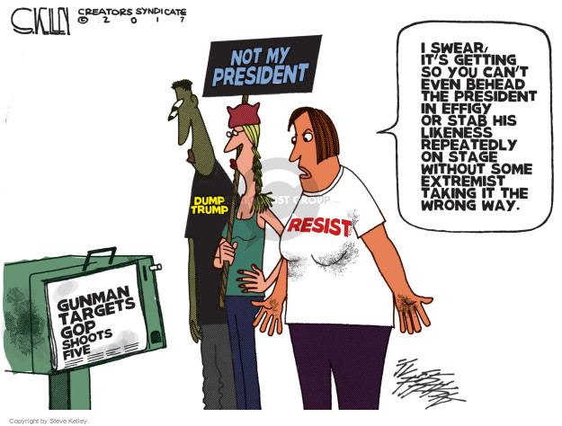 Steve Kelley  Steve Kelley's Editorial Cartoons 2017-06-15 GOP