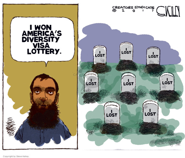 I won Americas diversity visa lottery. I lost.