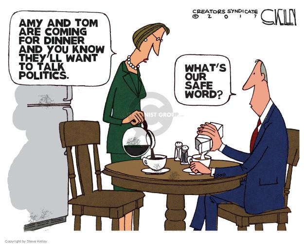 Cartoonist Steve Kelley  Steve Kelley's Editorial Cartoons 2017-11-09 talk