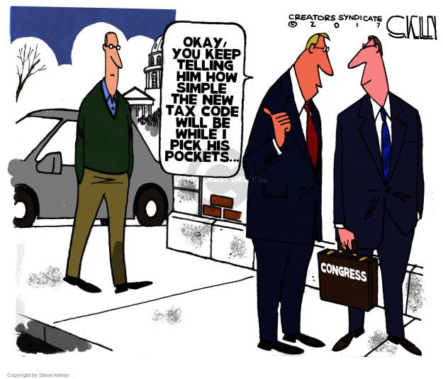 Steve Kelley  Steve Kelley's Editorial Cartoons 2017-11-14 editorial