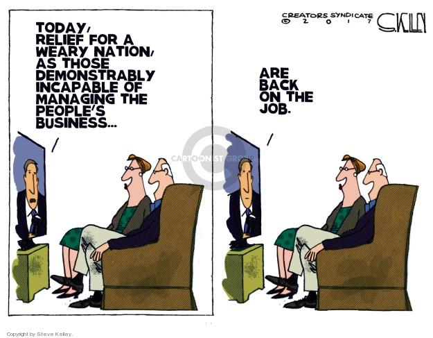 Steve Kelley  Steve Kelley's Editorial Cartoons 2018-01-23 editorial