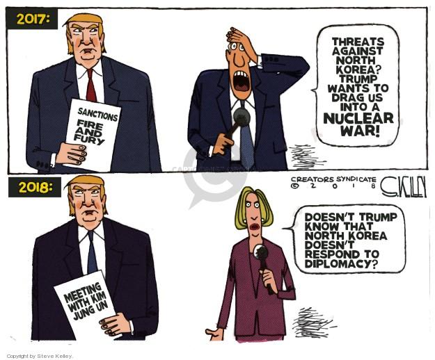 Cartoonist Steve Kelley  Steve Kelley's Editorial Cartoons 2018-03-13 weapon