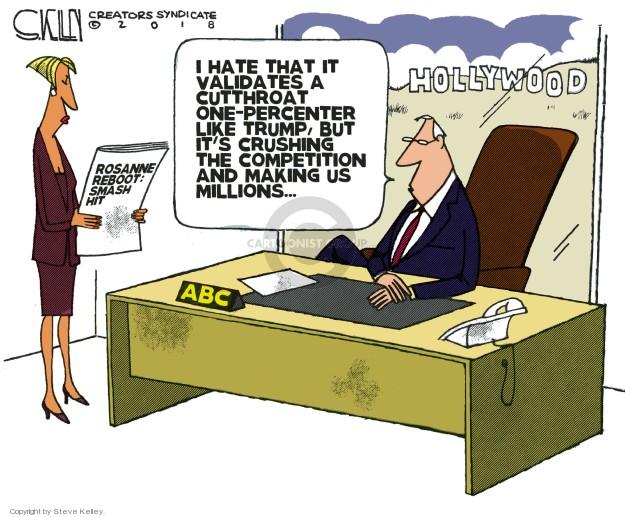 Cartoonist Steve Kelley  Steve Kelley's Editorial Cartoons 2018-04-05 celebrity