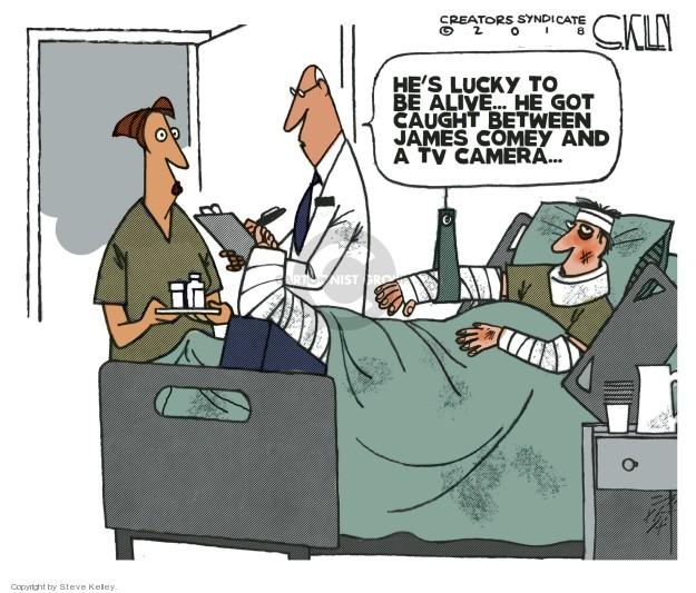 Cartoonist Steve Kelley  Steve Kelley's Editorial Cartoons 2018-04-17 election