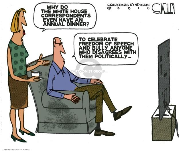 Steve Kelley  Steve Kelley's Editorial Cartoons 2018-04-30 journalism