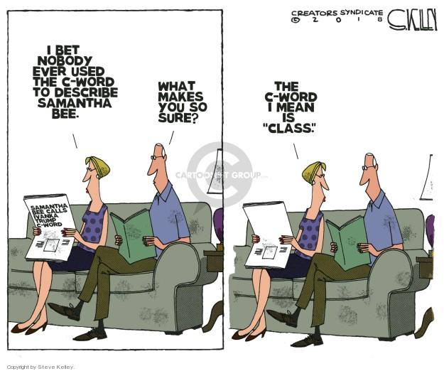 Cartoonist Steve Kelley  Steve Kelley's Editorial Cartoons 2018-06-05 television