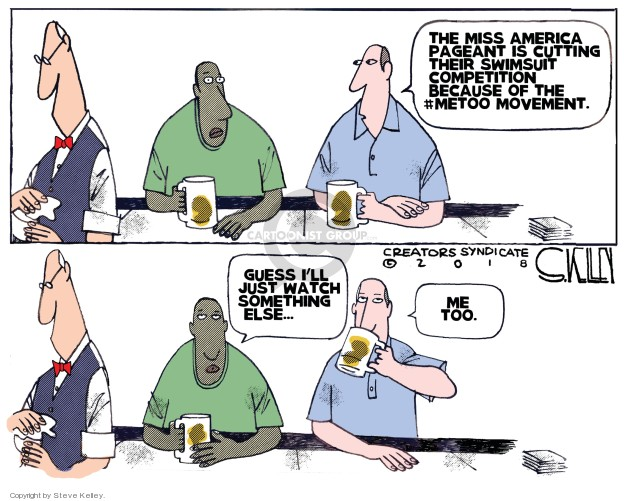 Cartoonist Steve Kelley  Steve Kelley's Editorial Cartoons 2018-06-07 guess