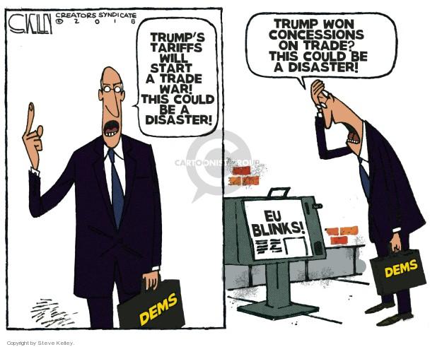Steve Kelley  Steve Kelley's Editorial Cartoons 2018-07-26 economy