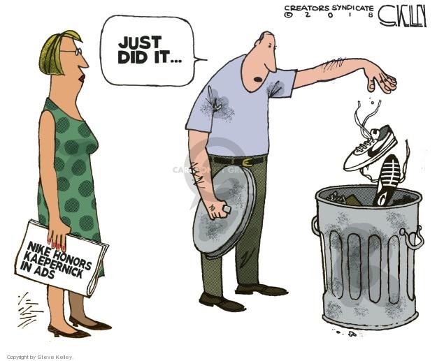 Cartoonist Steve Kelley  Steve Kelley's Editorial Cartoons 2018-09-06 football