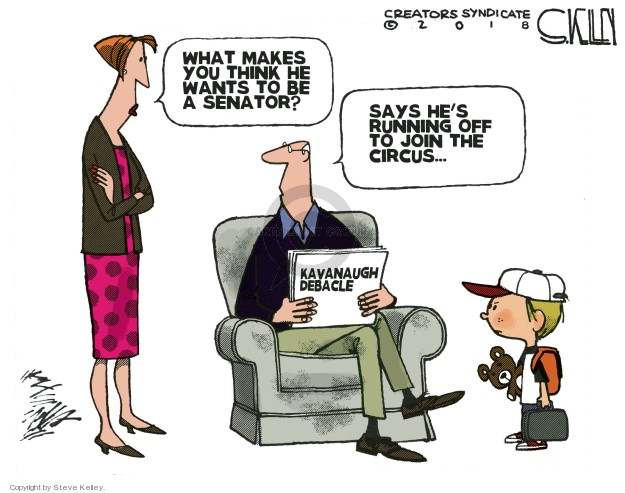 Steve Kelley  Steve Kelley's Editorial Cartoons 2018-10-02 system