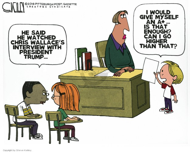 Cartoonist Steve Kelley  Steve Kelley's Editorial Cartoons 2018-11-23 television