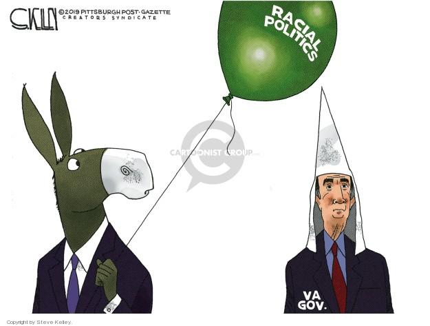 Steve Kelley  Steve Kelley's Editorial Cartoons 2019-02-06 discrimination