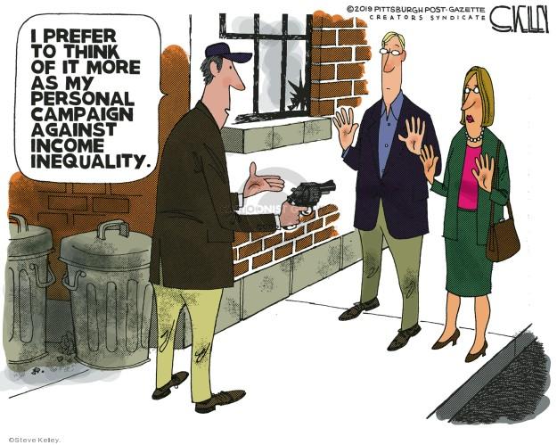 Steve Kelley  Steve Kelley's Editorial Cartoons 2019-03-18 income inequality