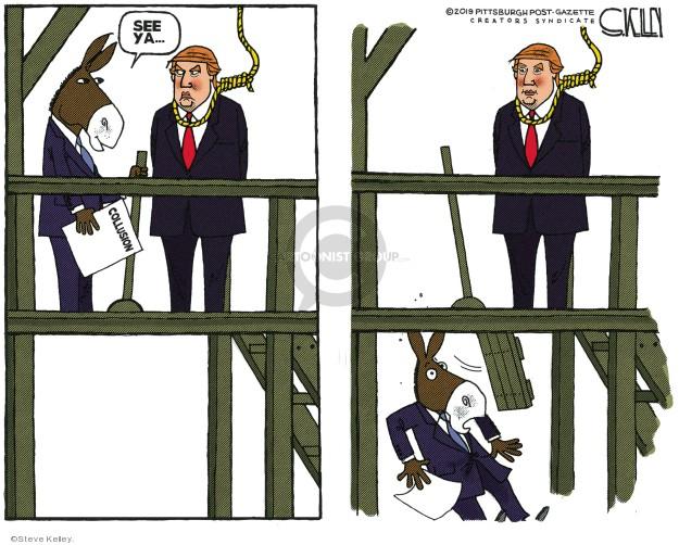 See ya ... Collusion.