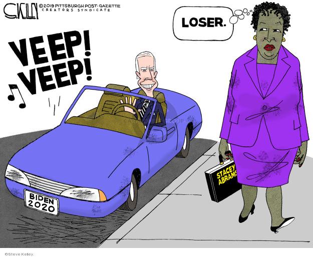 Steve Kelley  Steve Kelley's Editorial Cartoons 2019-03-29 Joe