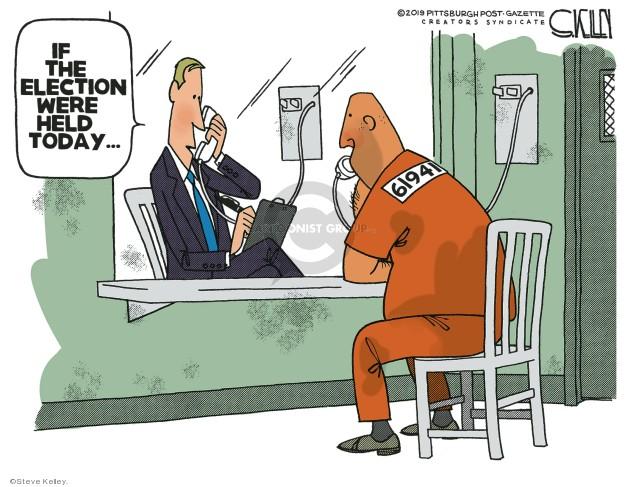 Steve Kelley  Steve Kelley's Editorial Cartoons 2019-04-25 prisoner