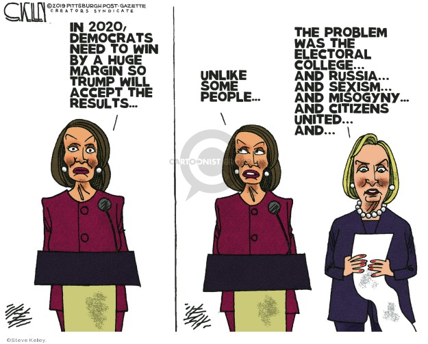 Cartoonist Steve Kelley  Steve Kelley's Editorial Cartoons 2019-05-08 speaker