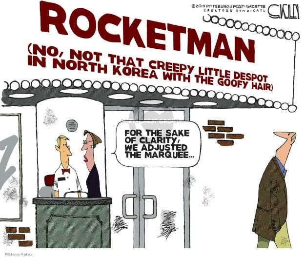 Cartoonist Steve Kelley  Steve Kelley's Editorial Cartoons 2019-06-03 film