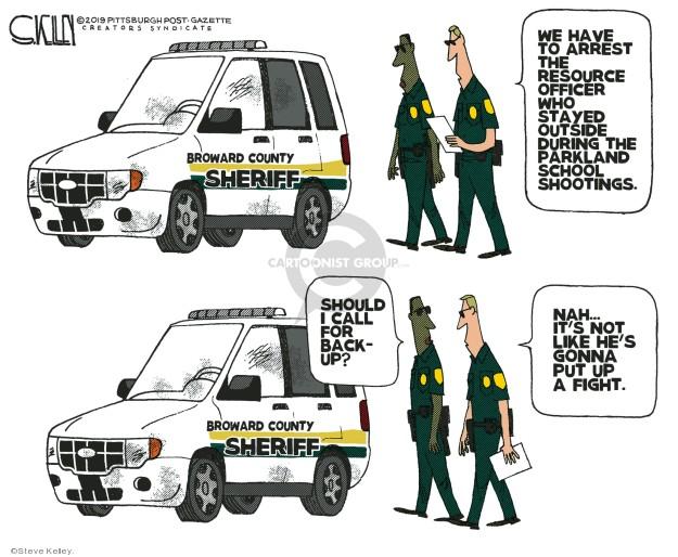 Steve Kelley  Steve Kelley's Editorial Cartoons 2019-06-06 mass shooting