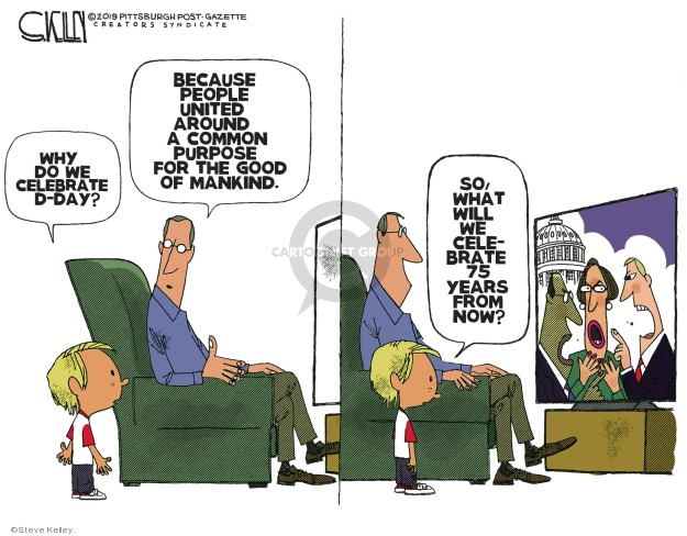 Cartoonist Steve Kelley  Steve Kelley's Editorial Cartoons 2019-06-07 year