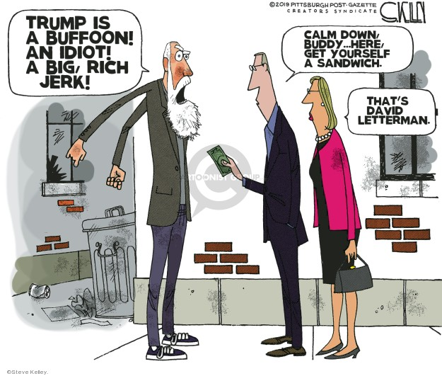Cartoonist Steve Kelley  Steve Kelley's Editorial Cartoons 2019-06-13 big
