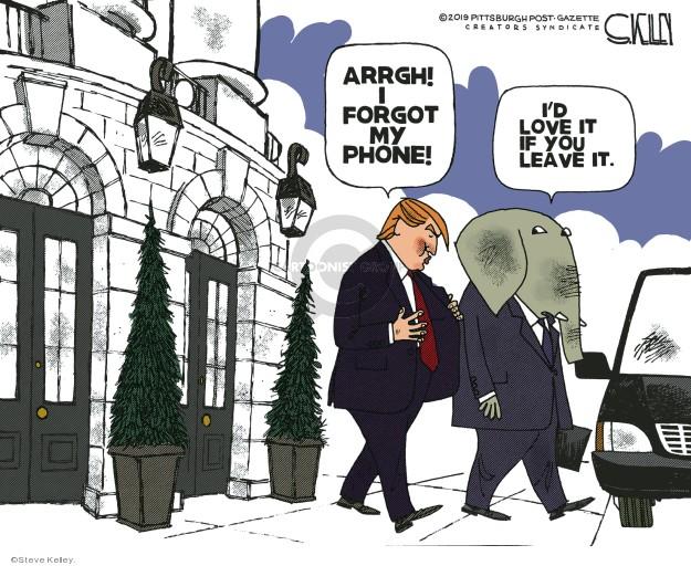 Steve Kelley  Steve Kelley's Editorial Cartoons 2019-07-22 GOP