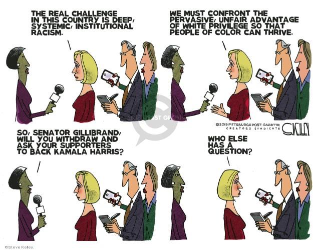 Steve Kelley  Steve Kelley's Editorial Cartoons 2019-08-04 people