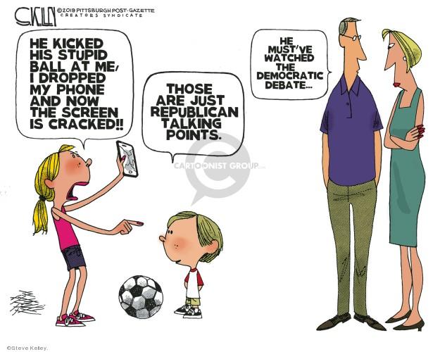 Steve Kelley  Steve Kelley's Editorial Cartoons 2019-08-05 republican