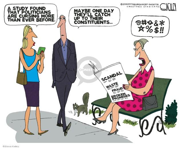 Steve Kelley  Steve Kelley's Editorial Cartoons 2019-08-21 editorial