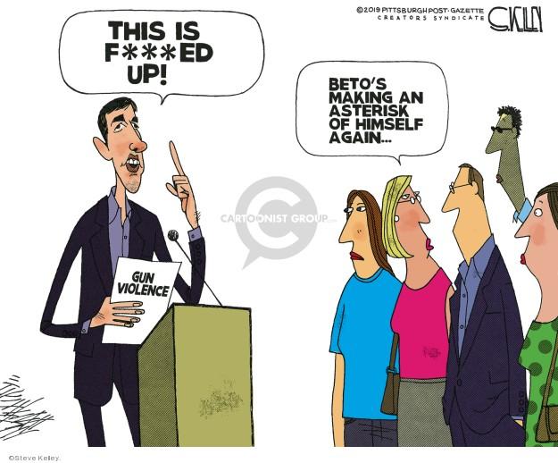 Steve Kelley  Steve Kelley's Editorial Cartoons 2019-09-05 editorial