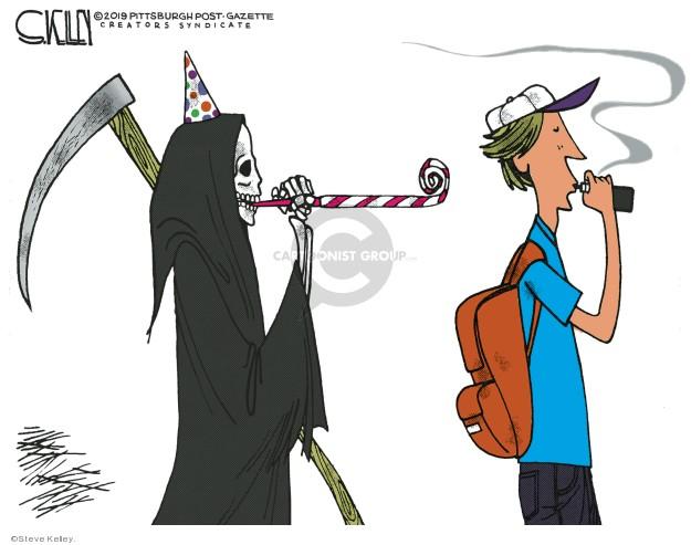 Steve Kelley  Steve Kelley's Editorial Cartoons 2019-09-13 editorial