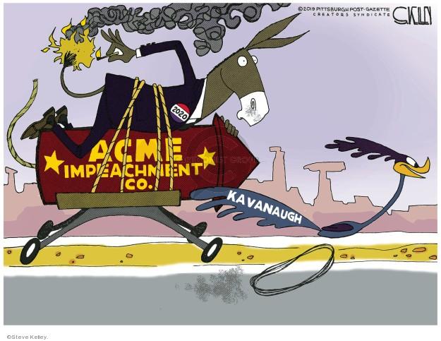 Acme Impeachment Co. Kavanaugh. 2020.