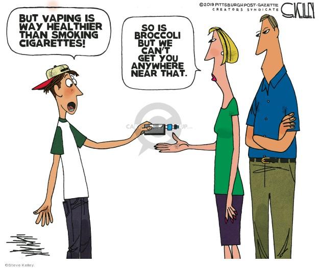Steve Kelley  Steve Kelley's Editorial Cartoons 2019-10-06 parenting