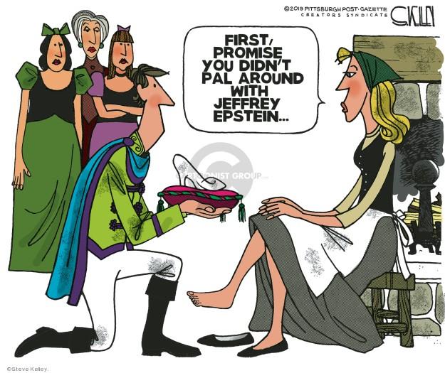Steve Kelley  Steve Kelley's Editorial Cartoons 2019-11-22 Jeffrey Epstein