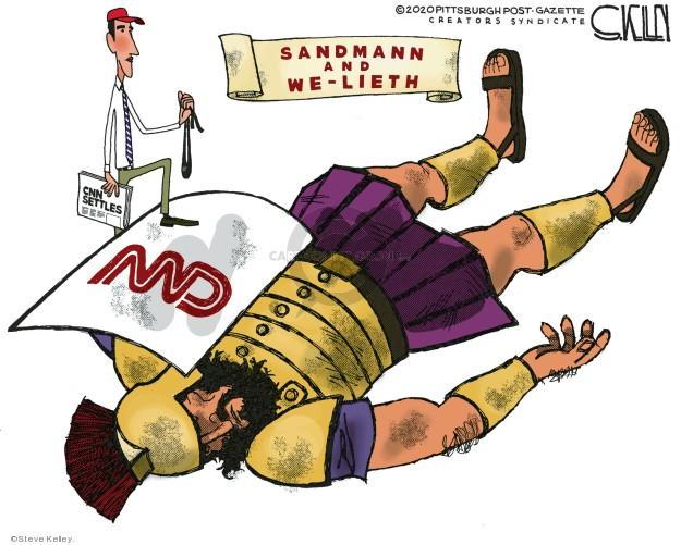Steve Kelley  Steve Kelley's Editorial Cartoons 2020-01-09 journalism