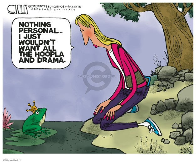 Steve Kelley  Steve Kelley's Editorial Cartoons 2020-01-17 family