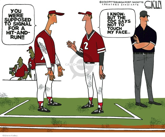 Steve Kelley  Steve Kelley's Editorial Cartoons 2020-03-08 editorial