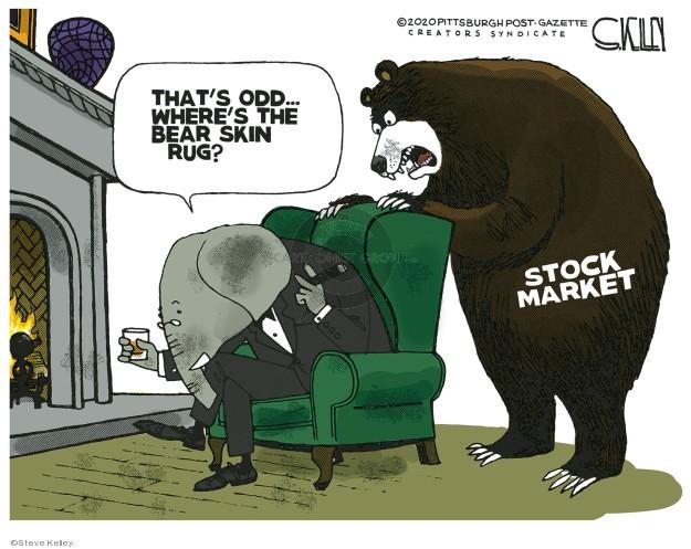 Steve Kelley  Steve Kelley's Editorial Cartoons 2020-03-10 GOP