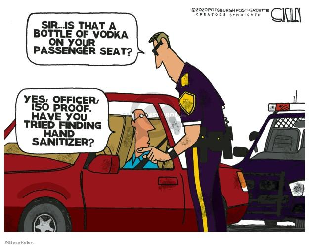 Steve Kelley  Steve Kelley's Editorial Cartoons 2020-03-31 editorial