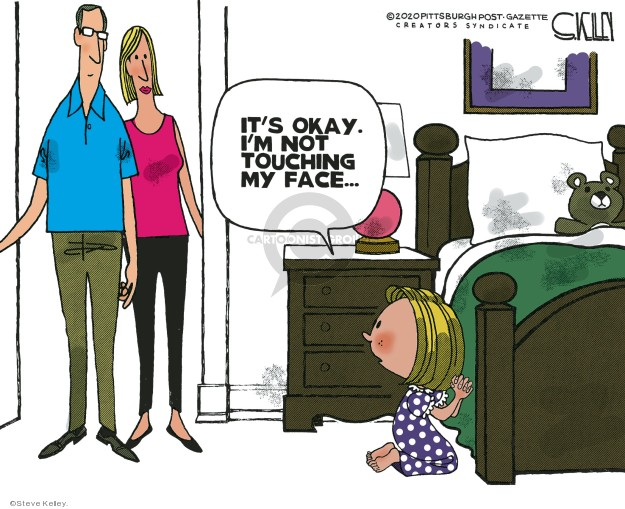 Steve Kelley  Steve Kelley's Editorial Cartoons 2020-04-03 editorial