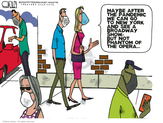 Steve Kelley  Steve Kelley's Editorial Cartoons 2020-06-21 crisis