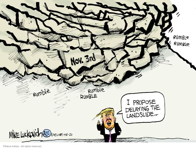 Steve Kelley  Steve Kelley's Editorial Cartoons 2020-07-31 campaign