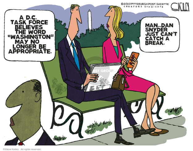 Steve Kelley  Steve Kelley's Editorial Cartoons 2020-09-03 Steve