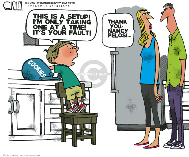 Steve Kelley  Steve Kelley's Editorial Cartoons 2020-09-04 Steve