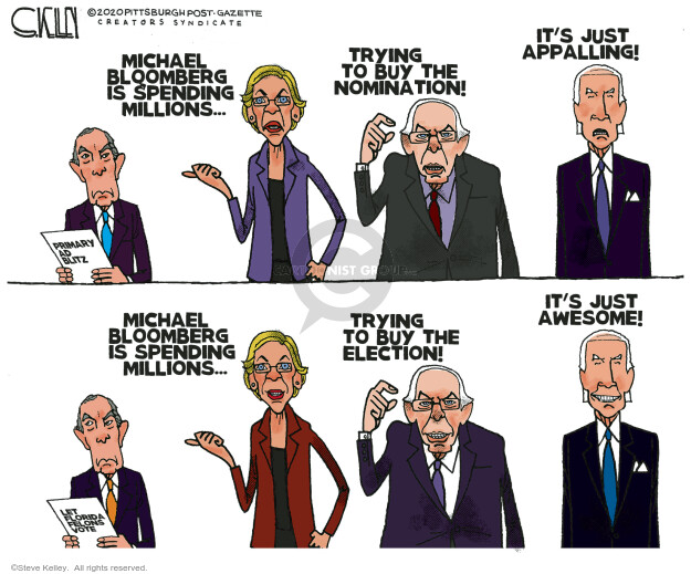 Steve Kelley  Steve Kelley's Editorial Cartoons 2020-09-25 2020 election